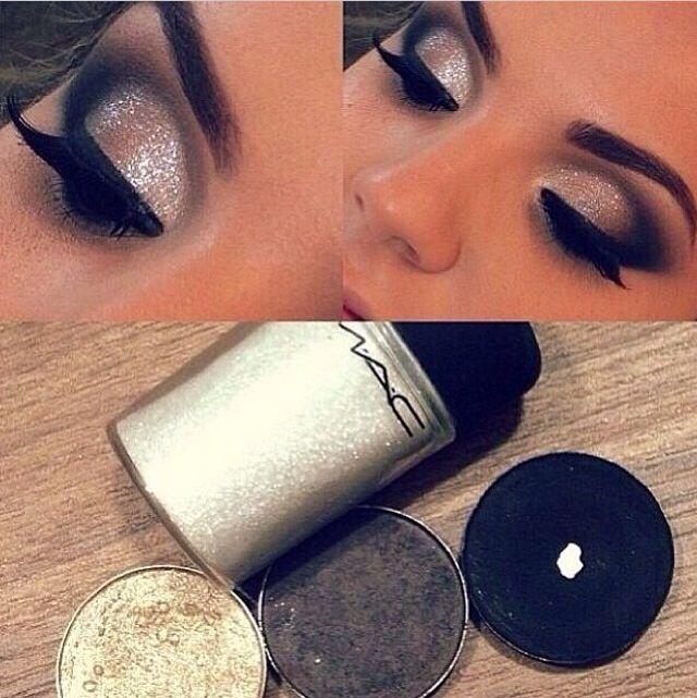 Glitter makeup Mac