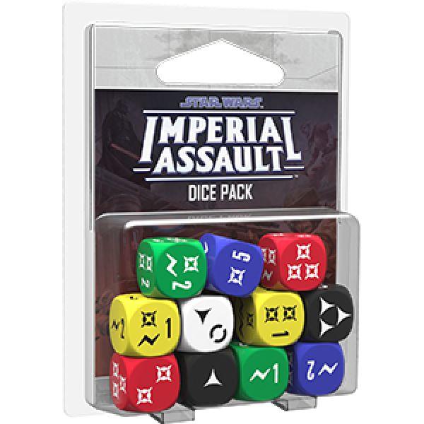 Elf zusätzliche Würfel für Star Wars: Imperial Assault