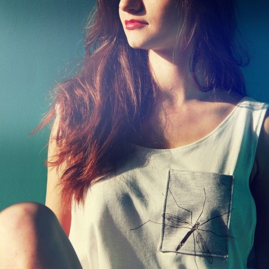 Komar t-shirt koszulka bluzka z nadrukiem