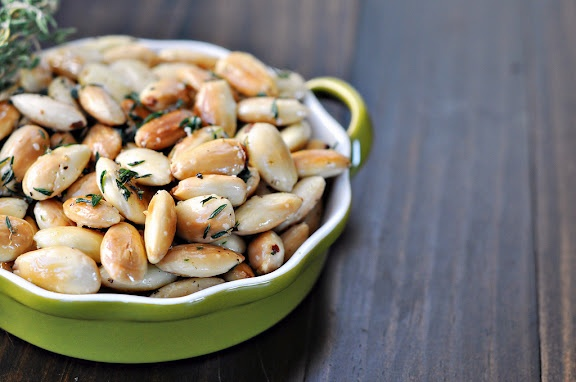 Fried Herbed Almonds | Delicious Food | Pinterest