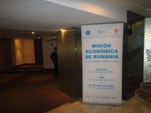 Romanian Economic Mission in Colombia, Peru & Chile 2012