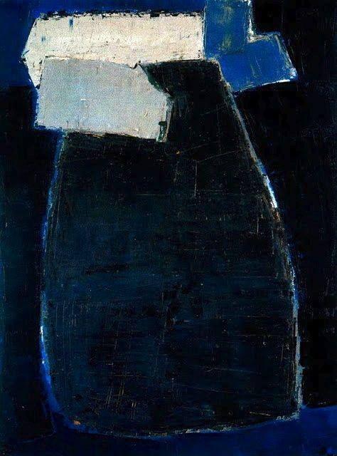colin-vian:   Great Blue Composition, 1950-51 - Nicolas de Staël