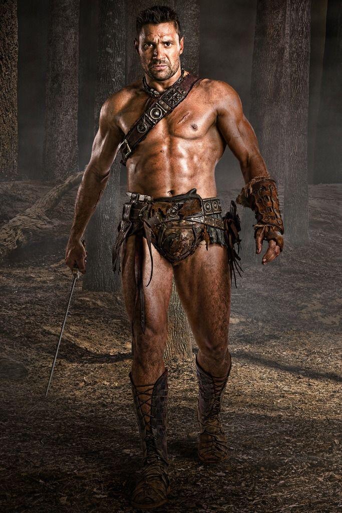 Manu Bennett as Crixus in Starz Spartacus 3