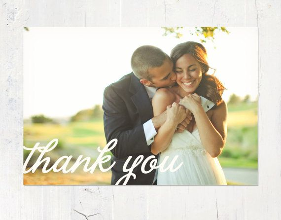 Wedding Thank You Cards - August Press