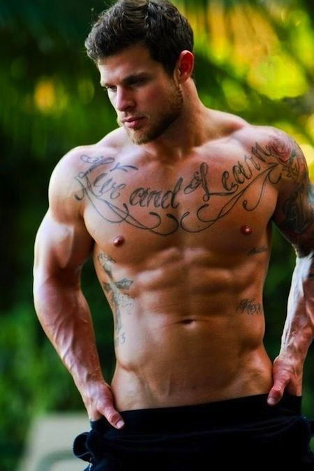 naked hot fit men
