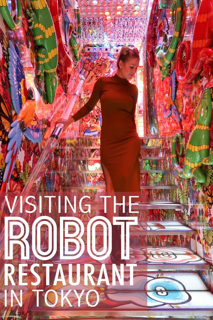 Tips for visiting Robot Restaurant in Tokyo