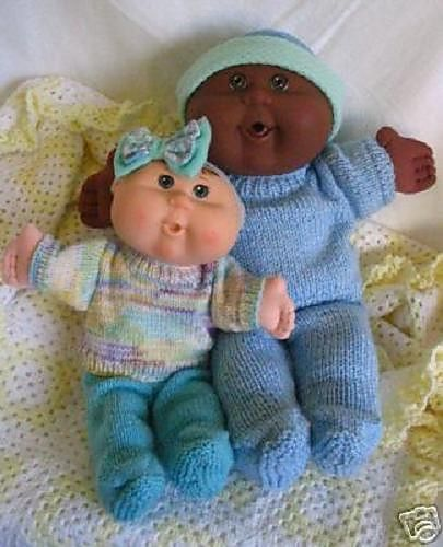 Ravelry: Jumpers plus Doll Clothes for 11inch & 14 inch Cabbage Patch Kids Dolls, Babies & Newborn pattern by Miss Meggy Designs