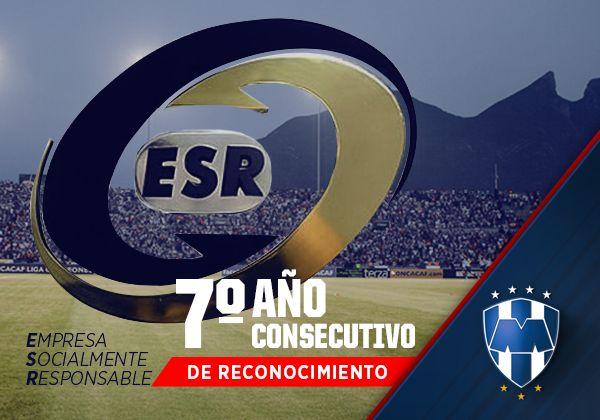Recibe Club de Futbol Monterrey distintivo de Empresa Socialmente Responsable por séptimo año: http://www.rayados.com/noticias/8189/recibe_club_de_futbol_monterrey_distintivo_de_empresa_socialmente_responsable_por_sptimo_ao#sthash.RIfUXWUd.dpuf