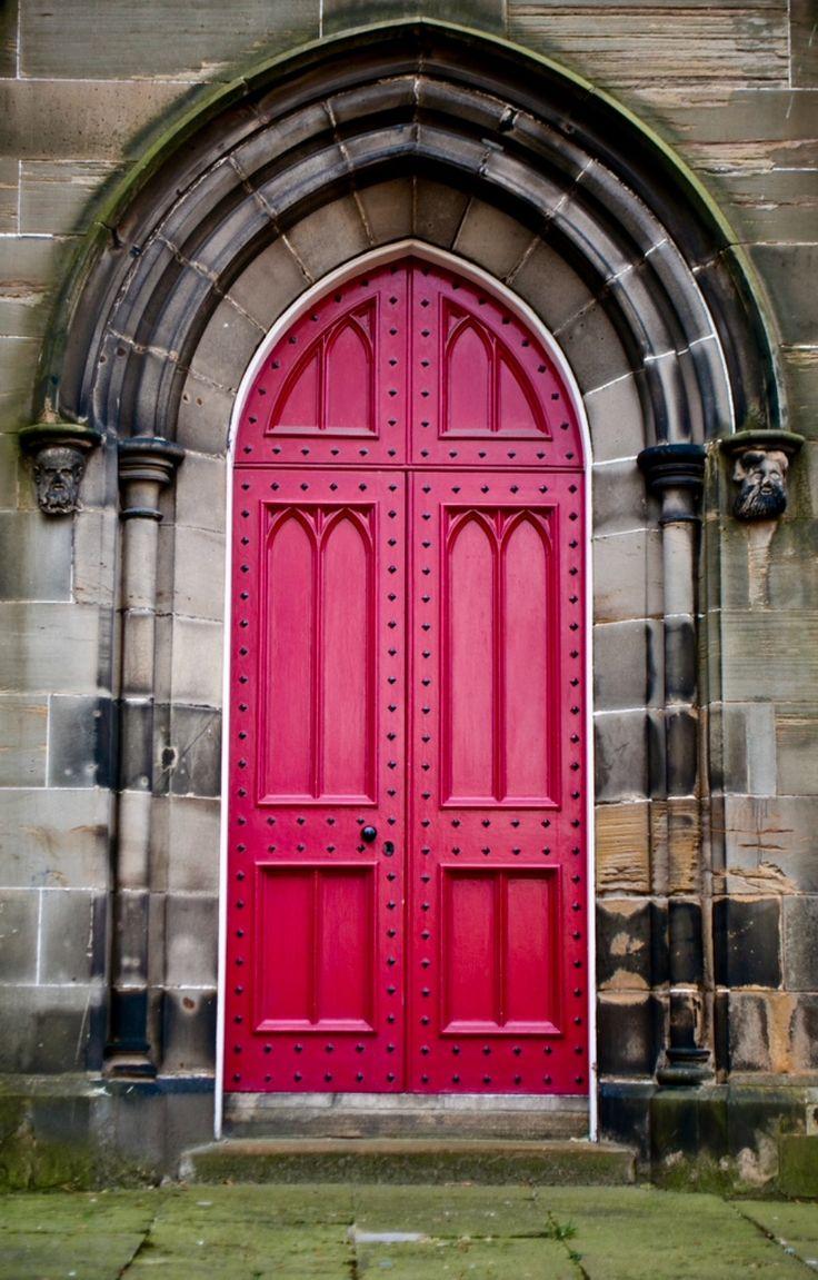 Edinburgh, Scotland   ~ Beautiful Doors