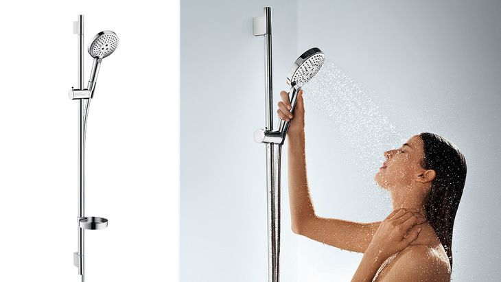 Wall bar with hand shower