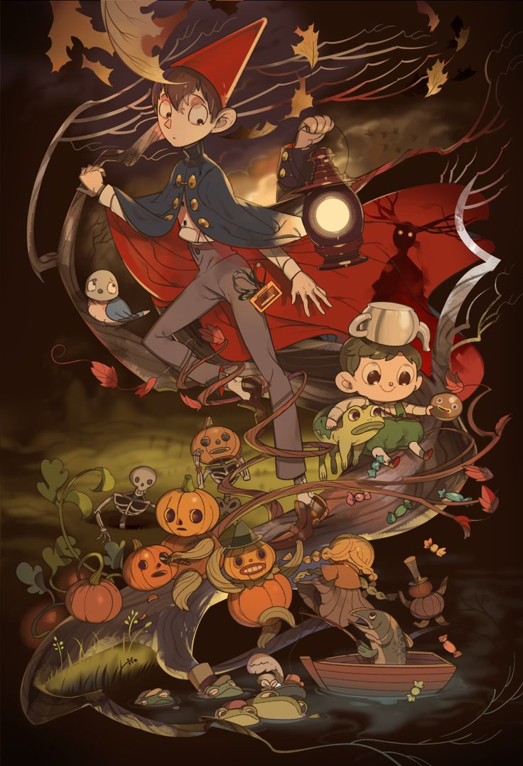 218 Best Over The Garden Wall Images On Pinterest