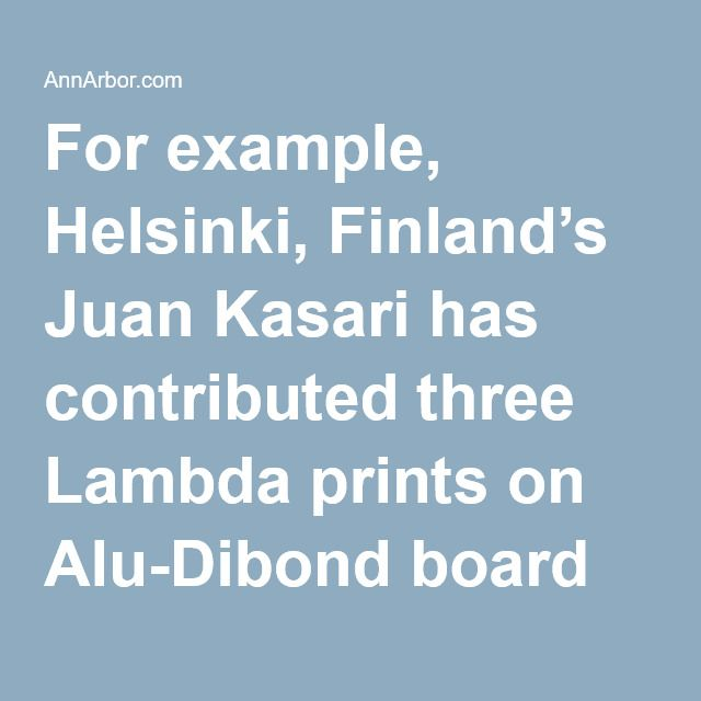 "For example, Helsinki, Finland's Juan Kasari has contributed three Lambda prints on Alu-Dibond board with epoxy varnish titled ""It Was Meant to be a Model for a Perfect Society"" that are among the most stark dystopian images in the exhibit.  Kasari's photographs featuring a dilapidated apartment complex at night are a social nightmare come true. Not dissimilar to ""A Clockwork Orange's"" inner-city projects where a push was made to create affordable housing, Kasari's images reflect the…"