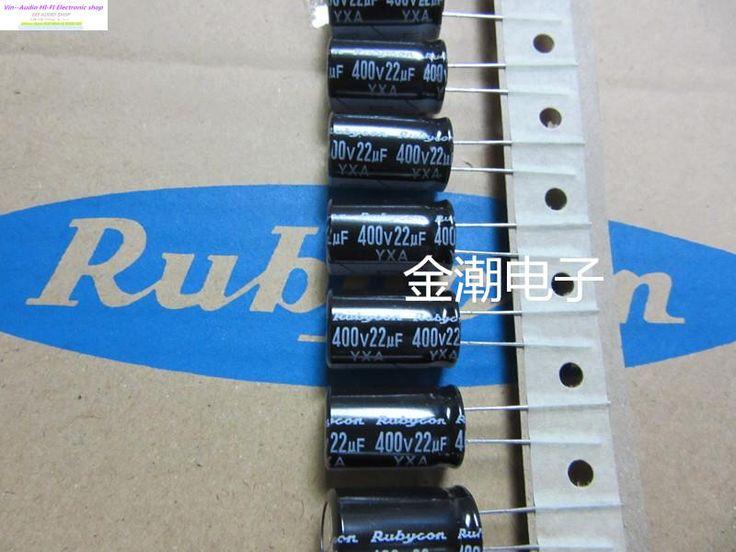 Суперконденсаторов Bolsa 50 ШТ. Rubycon Конденсаторы 400v22uf 12.5x20 Yxa Серии Лентой 22 мкФ 400 В Высокие Стандарты Качества бесплатная Доставка