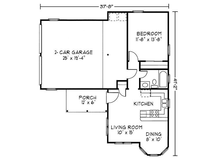 Garage apartment homes pinterest for Cool house plans garage apartment