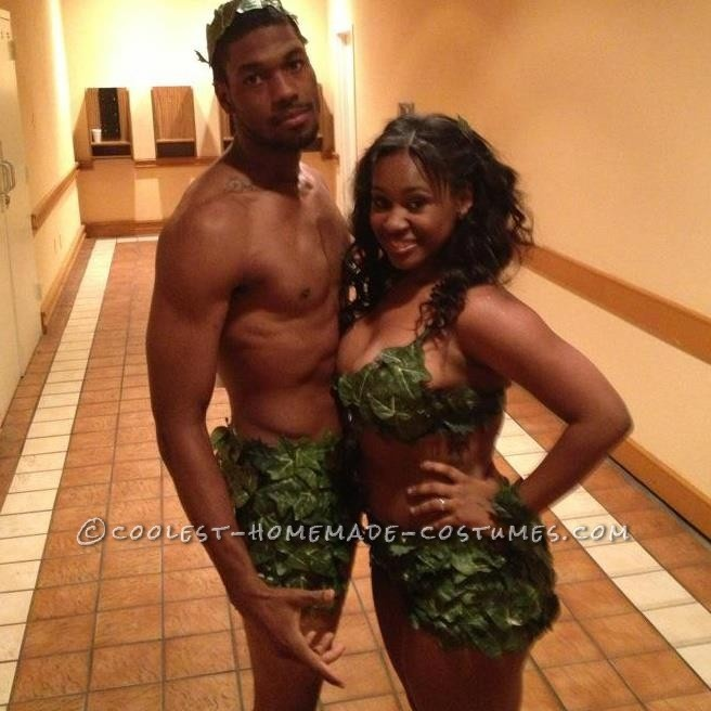 Sexy Adam and Eve Couples Halloween Costume... This website is the Pinterest of costumes