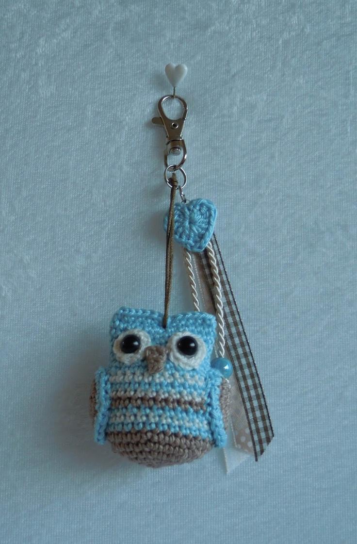 146 besten Crochet - keychains Bilder auf Pinterest   Tiere, Häkeln ...