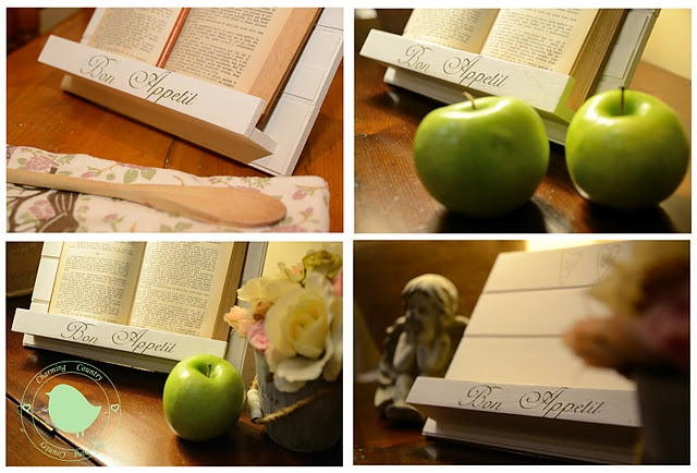 diy bookstand