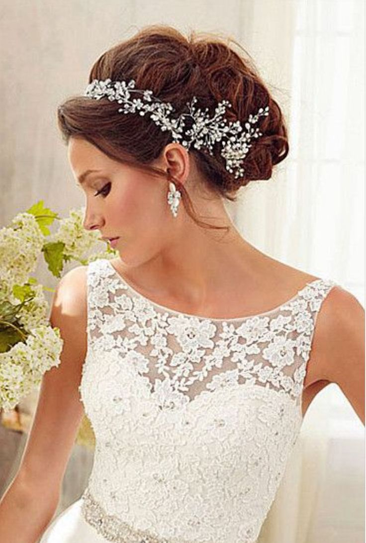 Best 25 Hair pieces for wedding ideas only on Pinterest