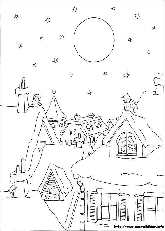 Weihnachten malvorlagen