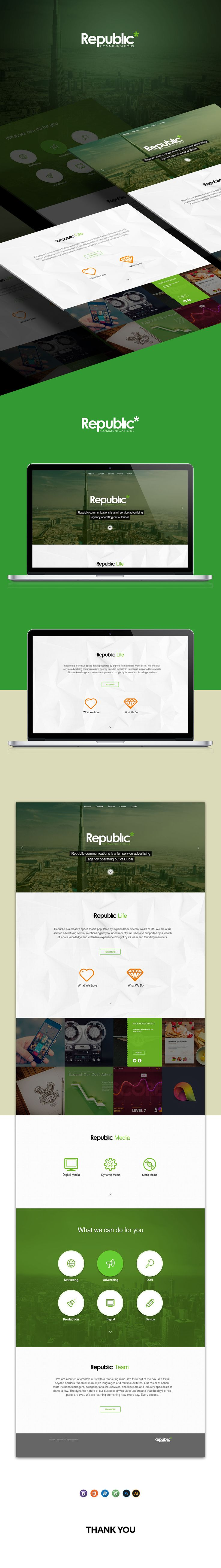 Republic on Behance