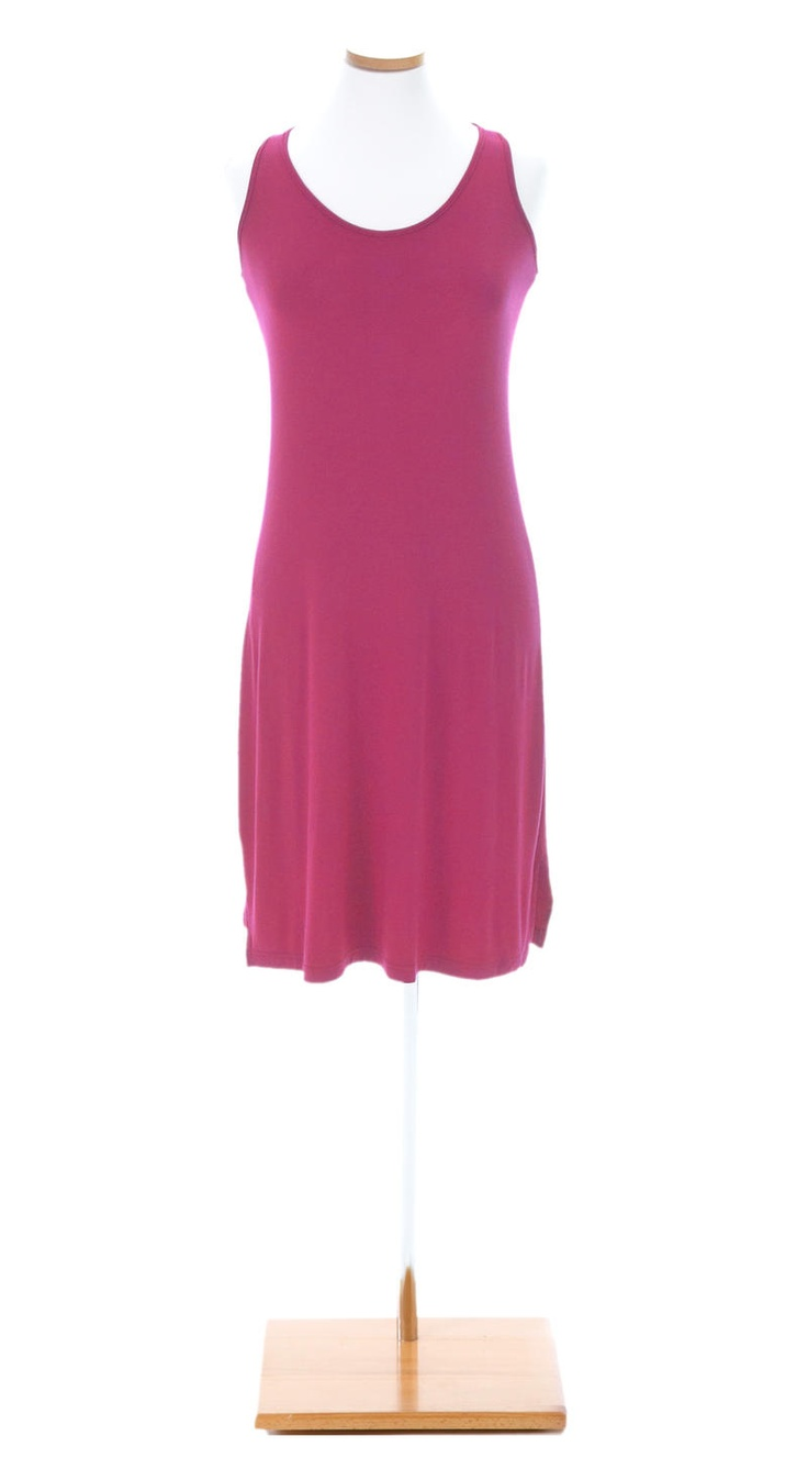 Willow Knit™ Raspberry Racerback Dress | Pine Cone Hill Outlet