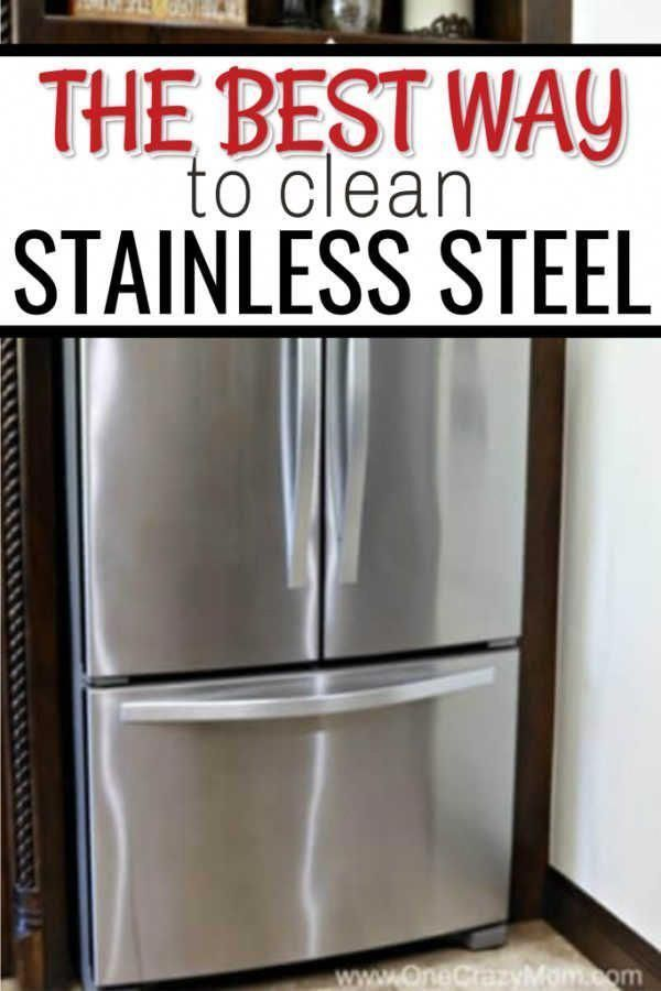 This Is The Best Way To Clean Your Stainless Steel Appliances So That They Are In 2020 Stainless Steel Cleaning Cleaning Stainless Steel Appliances Cleaning Appliances