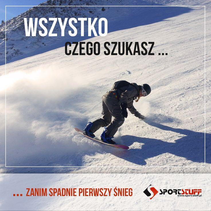 Sezon nadchodzi wielkimi krokami Gotowi? My tak! #snowboard#zajawka#dużo#sprzętu#super#ceny