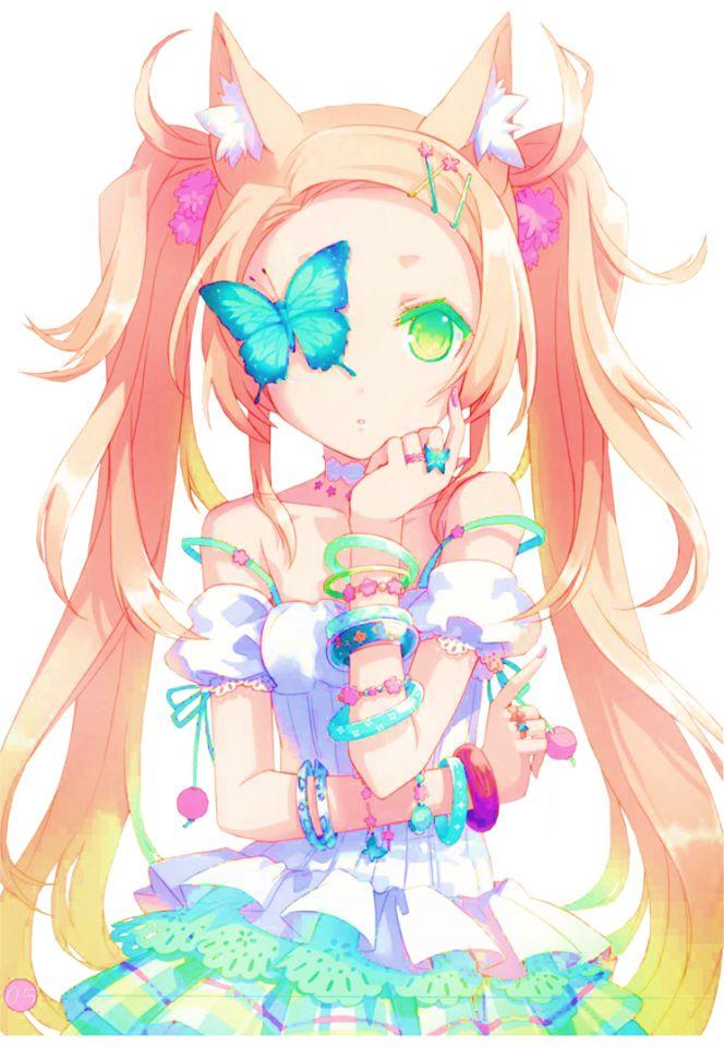 anime kawaii pastel: (╯ ‿ )Pastel Goth,Fairy Kei
