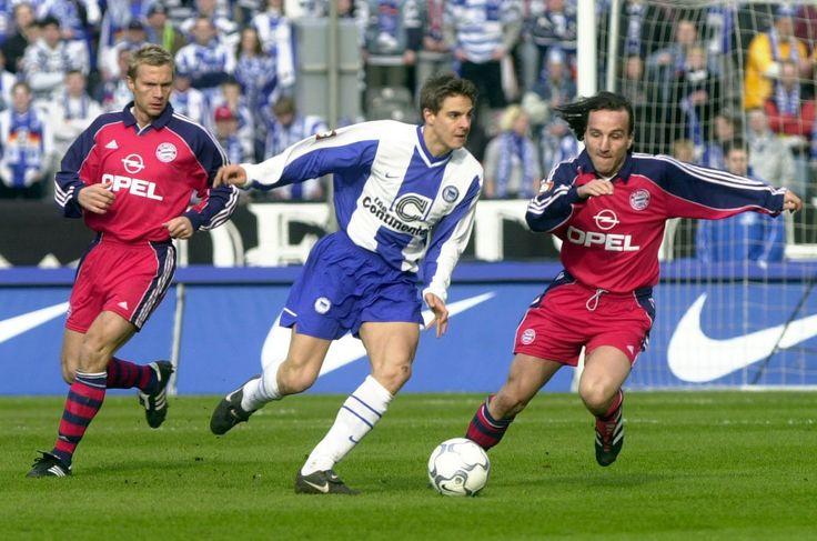 Sebastian Deisler v FC Bayern Munich