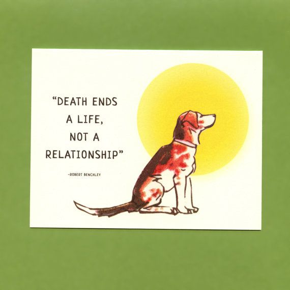 LOSS Of A DOG  SYMPATHY  Card by seasandpeas on Etsy, $3.75
