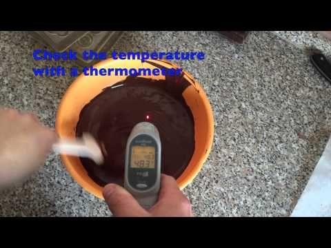 COME TEMPERARE IL CIOCCOLATO - 2 - YouTube