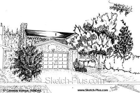House Sketches: 17 Cammay Avenue, DUNDAS