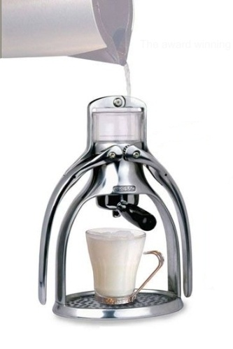 Presso Coffee Maker - Non Electric Coffee Maker  Win an iPad3 - http://pinterest.com/uorlonline/competition  #office #gadget #gadgets #play #gizmos #officegear