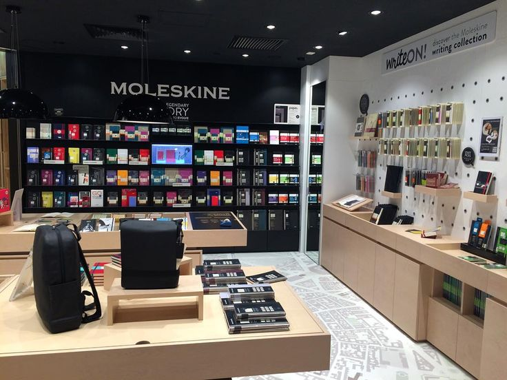 Who's in Hong Kong this weekend? A new #Moleskine Store just opened in K11 Art…