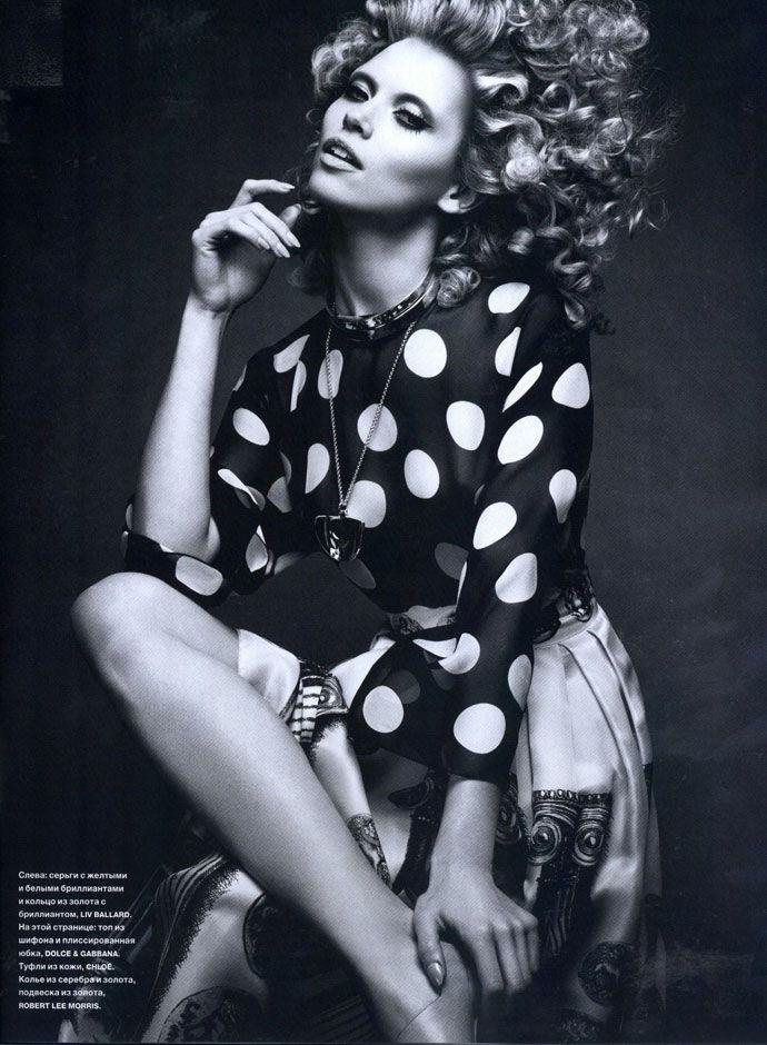 Dolce&Gabbana Spring Summer 2014, Numerò Russia May 2014 -