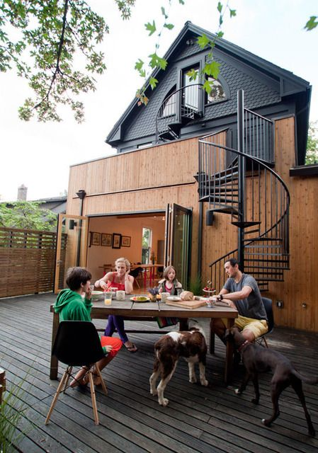 Awesome outdoor space...integrated so well with the house.