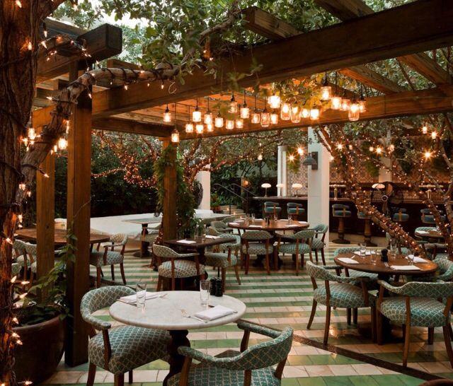 Gorgeous Jardin Restaurant Restaurer Terrasse