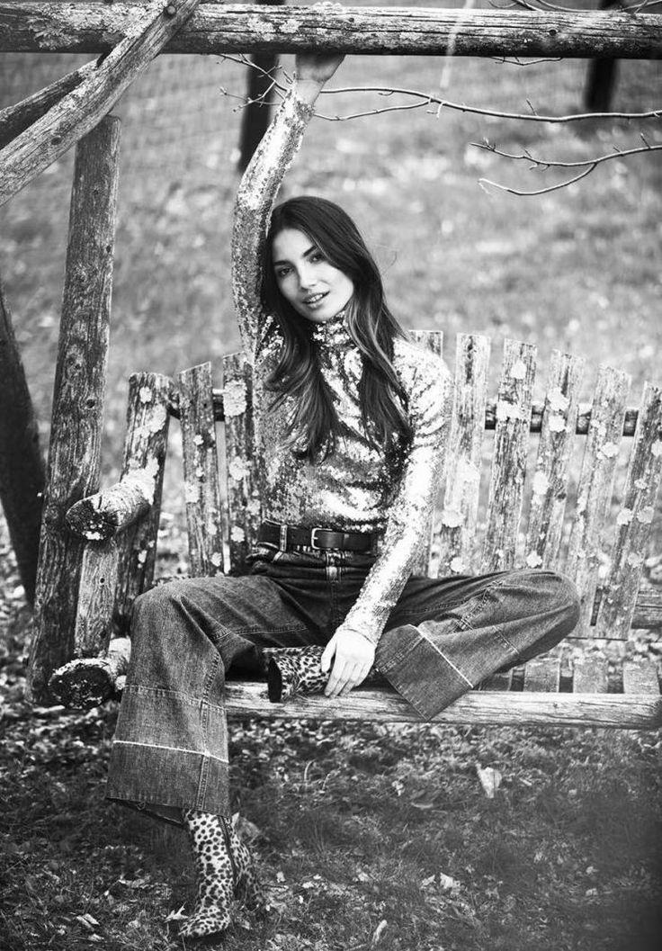 Lily Aldridge by photographer David Bellemere | GRAVERAVENS