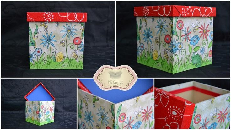 10 best cajas decoradas images on pinterest decorated - Cajas de madera decoradas ...
