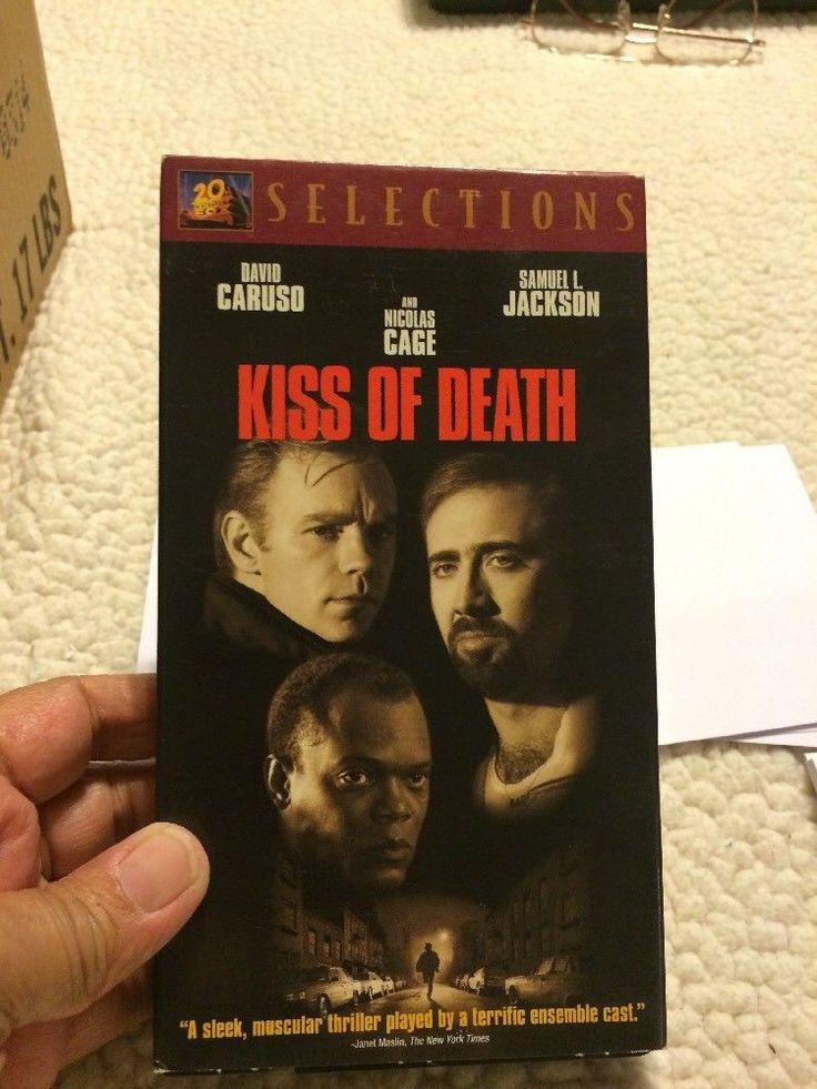Kiss of Death (VHS, 1995) David Caruso Samuel L Jackson Nicolas Cage  | eBay