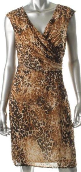 Tiana B. Animal Print Dress, 10, $33.50CAD + shipping (Reg. $89.00) http://stylenstuff.ca/products/tiana-b-animal-print-dress-10