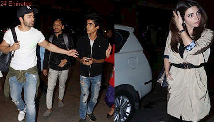 Airport Fashion: Varun Dhawan, Shama Sikander...