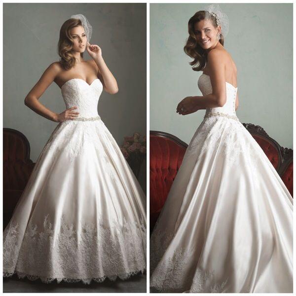 460 besten Wedding Gowns Bilder auf Pinterest | Hochzeitskleider ...