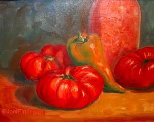 Preserving the Harvest by Joan Finnegan Oil ~ 11 x 14   $550