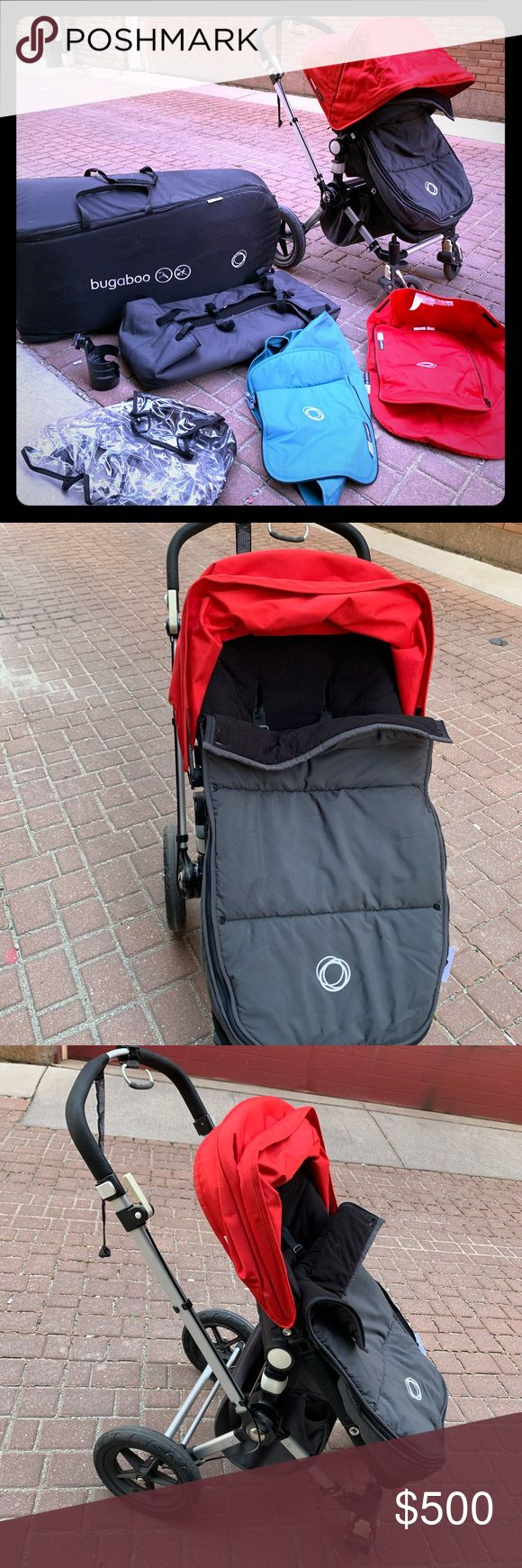 Bugaboo Cameleon Stroller + Accessories in 2020 Bugaboo