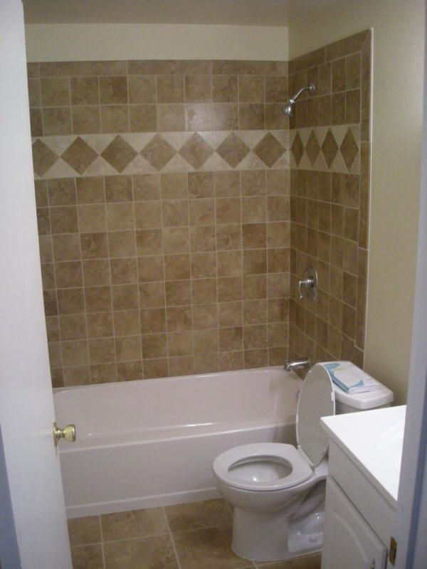 Best 25 upstairs bathrooms ideas on pinterest guest - Small bathroom remodel with tub ...
