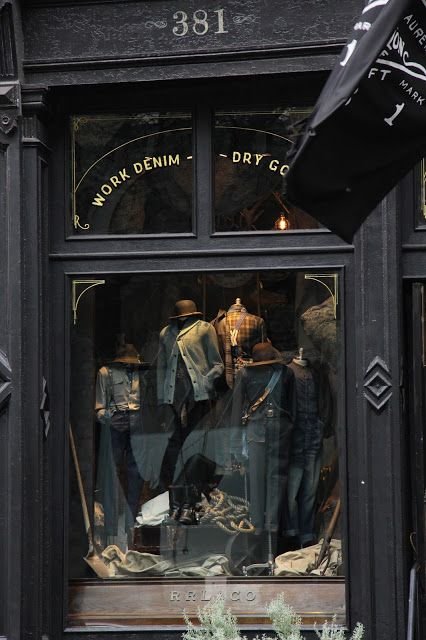 CHAD'S DRYGOODS: INSIDE THE RRL STORE, NEW YORK