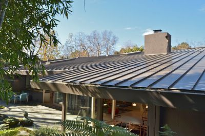Mid Century Modern Metal Roof Main St Carport Addition