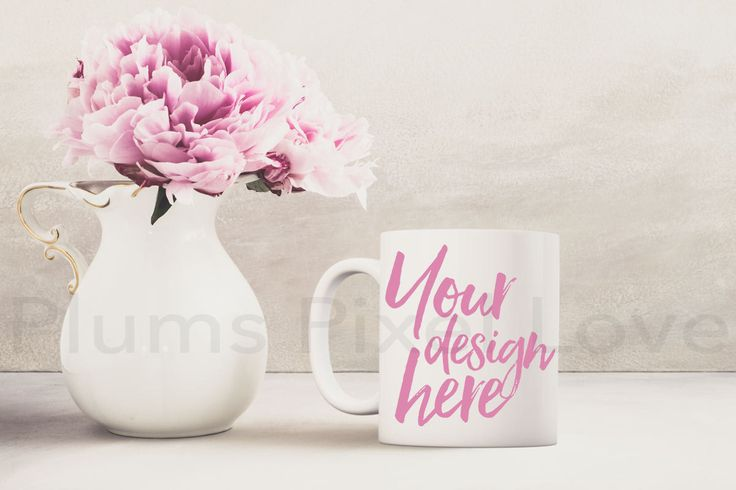Mug Mockup, Styled Stock Mug Image, Mockup Styled Coffee Mug, Product Styled Stock, Product Photography, Mug design, Digital, white mug by plumspixellove on Etsy