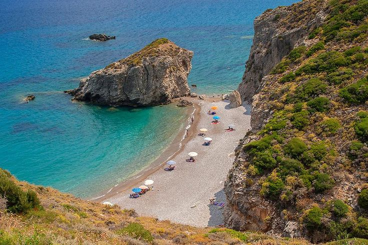 Kythera,Kaladi beach by Sotiris Siomis